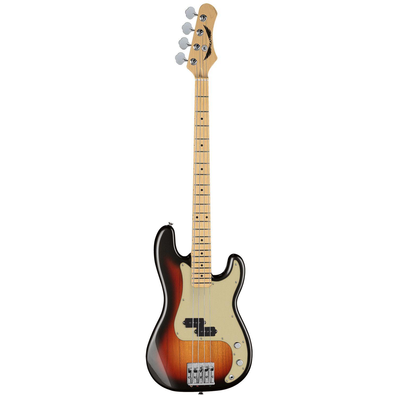 Dean Paramount Maple Fb Electric Bass 3 Tsb Guitar Dean Bass Bass Guitar