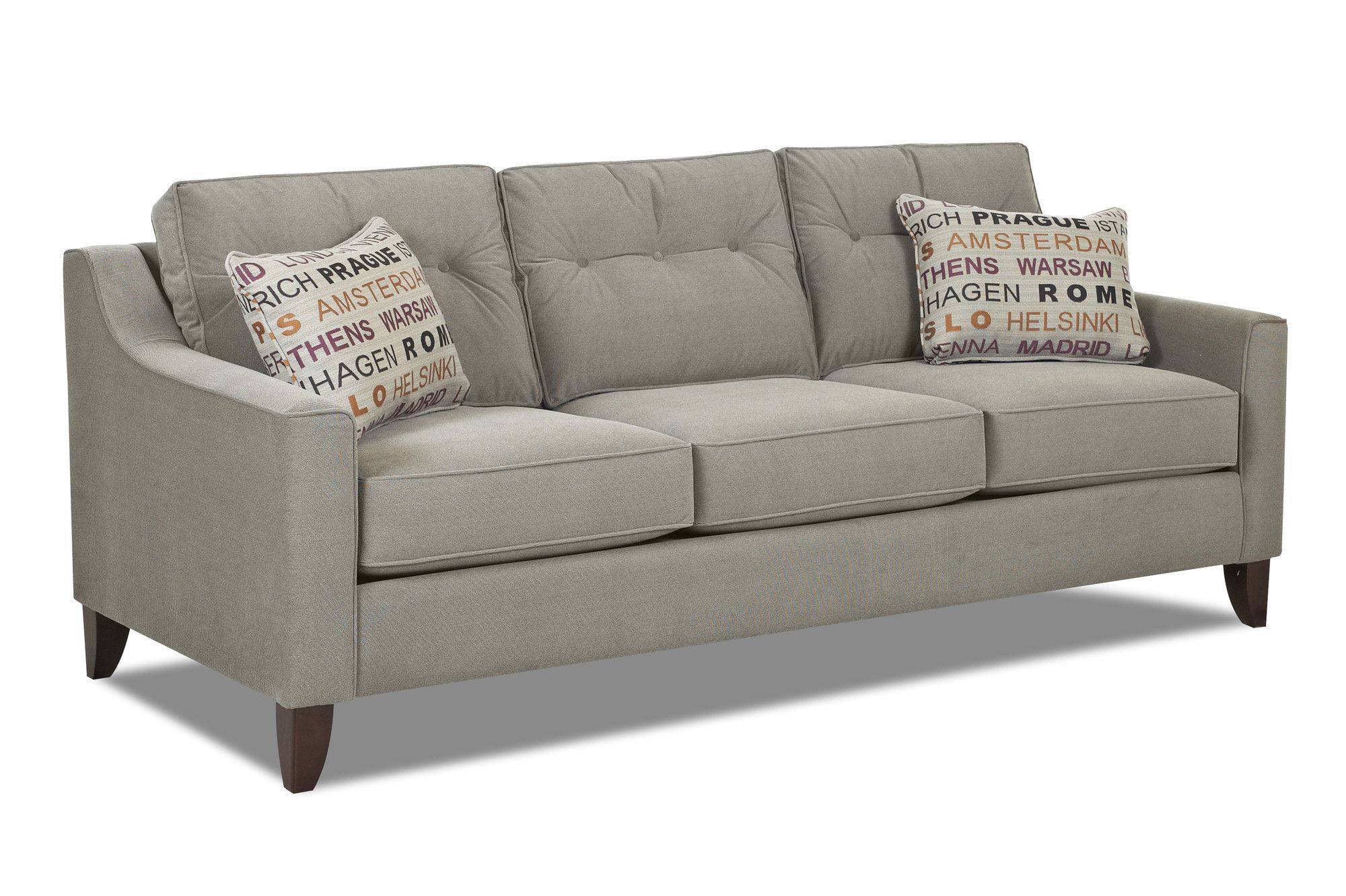sofa d klaussner wayfair furniture reviews pin audrina sofas m