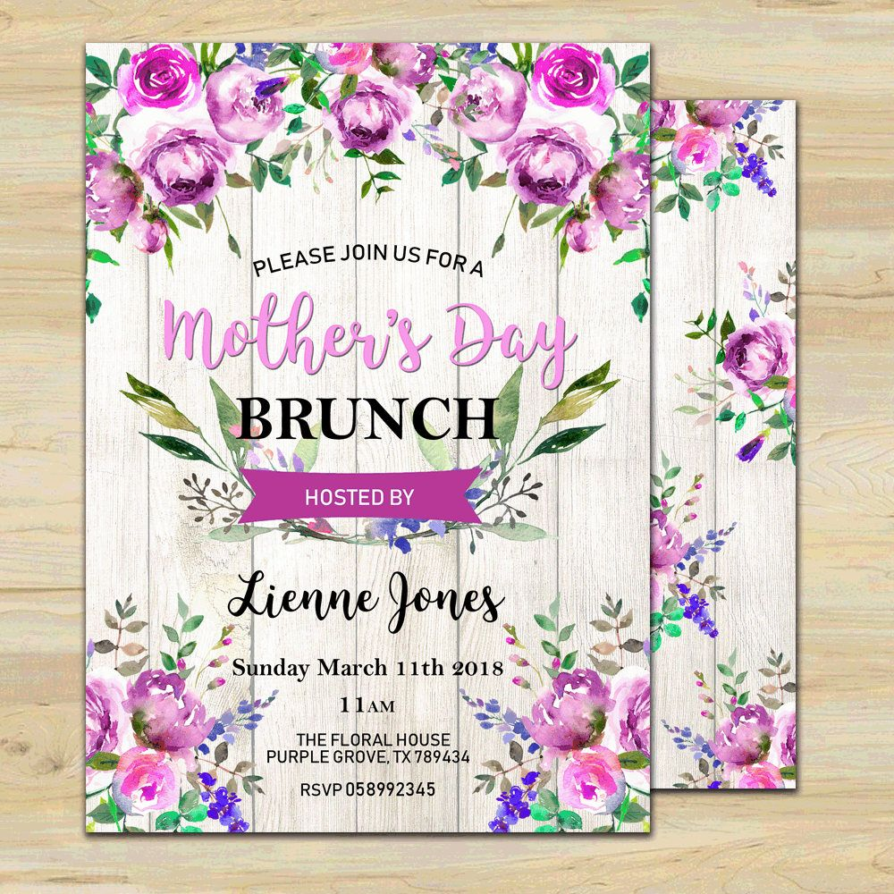 mother s day brunch invite mother s day invite mother s day