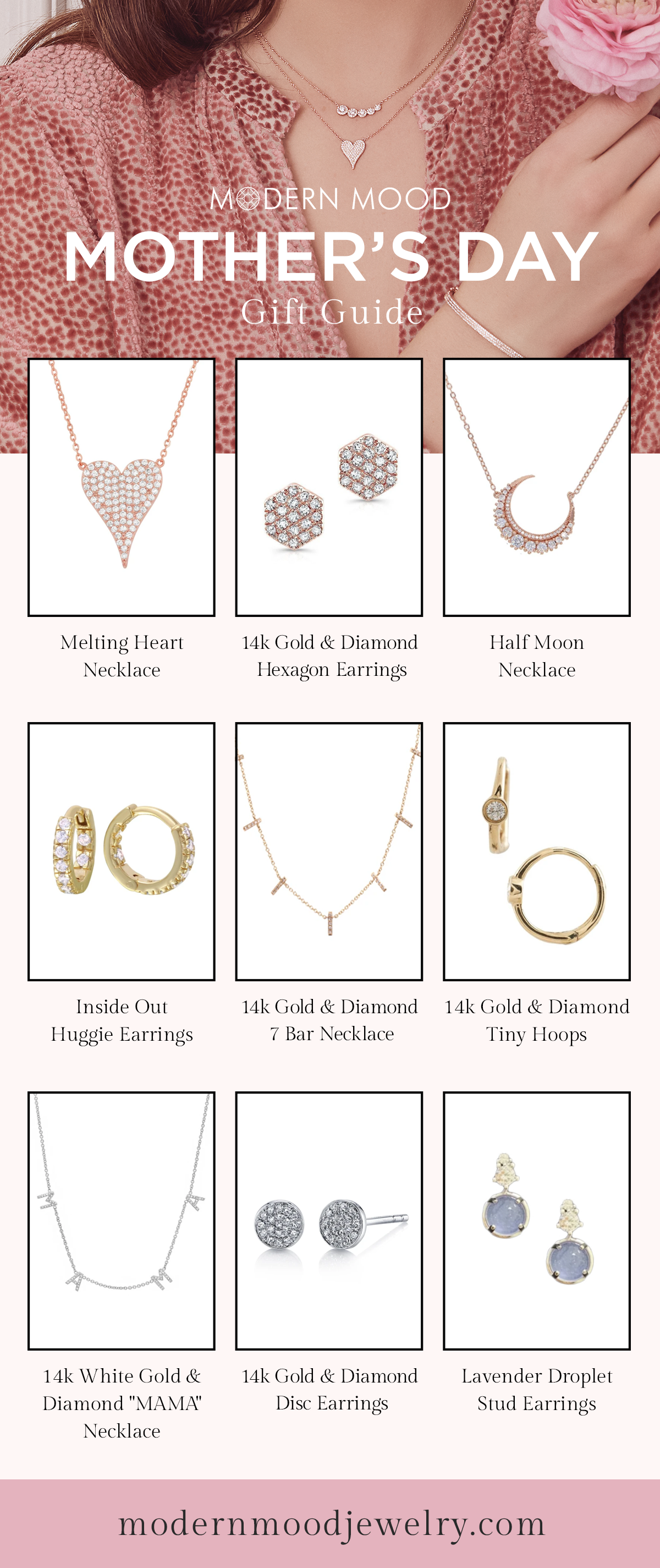 Photo of Mother's Day Gift Guide from Modern Mood Jewelry