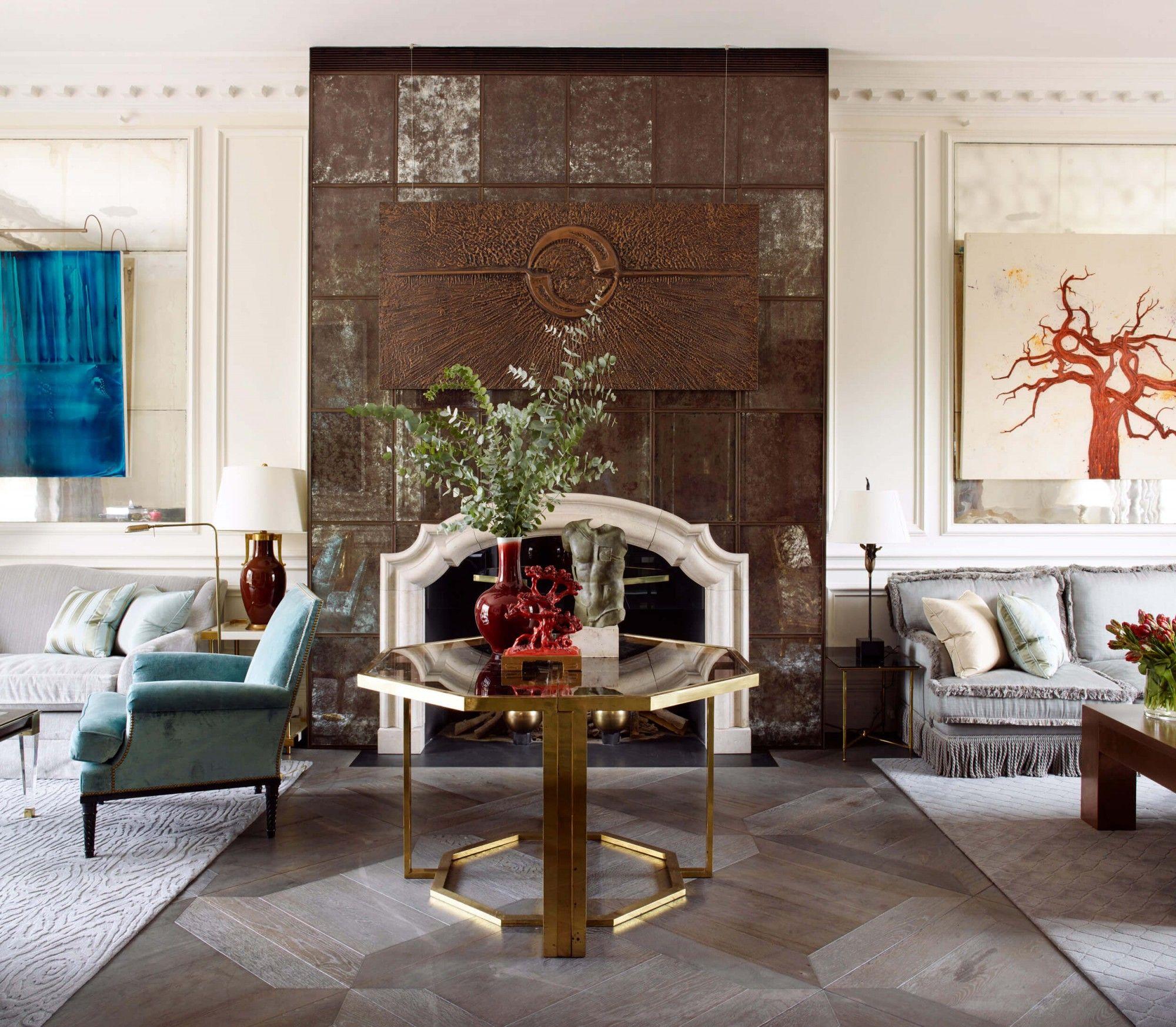 Antique Grey Distressed Oak Panels Element 7 Parquet