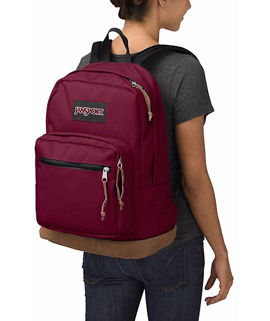 Jansport Right Pack Russet Red 31L Backpack  b3d95144cadcd