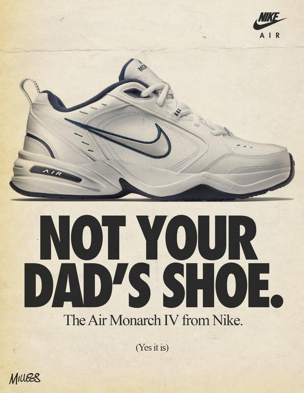 nike air monarch 1990