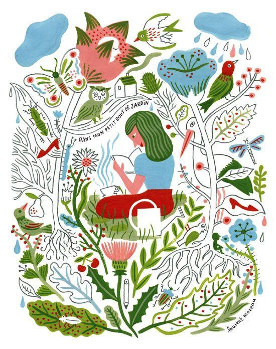 """Voglio dare un bacio in fronte a chi per primo ha tirato fuori la definizione """"Garden literature""""."""