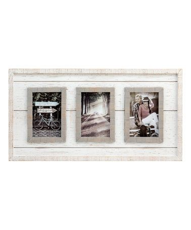 This Madison White Wood Collage Frame is perfect! #zulilyfinds ...