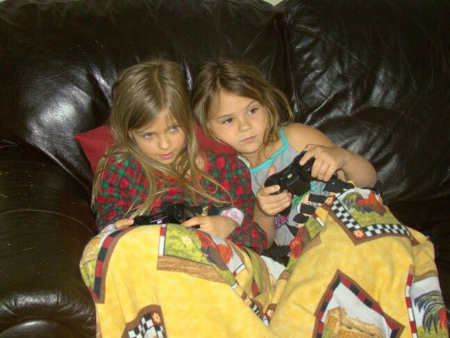 Me Ariel and my cousin playing the XBOX:-)