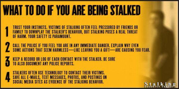 Pin on Stalking Awareness