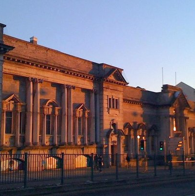 Old Central Library, Plymouth, England