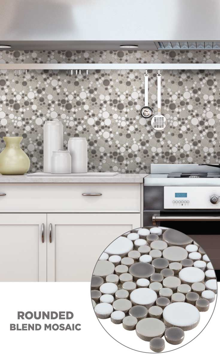Tile Lowes Mosaics Glassmosaics Backsplash Cr747grey1212