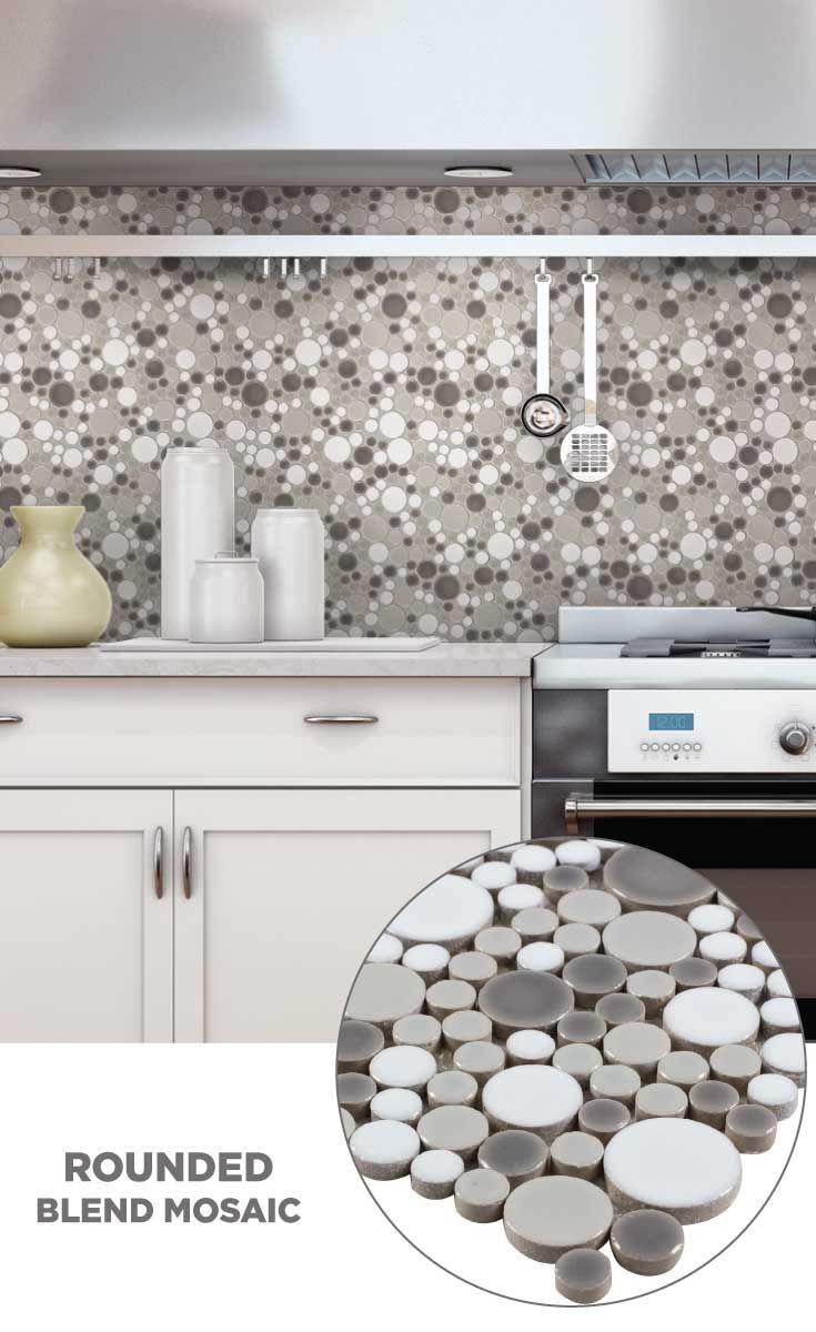 Tile Lowes Mosaics Glmosaics Backsplash Cr747grey1212 Available At Lowe S And