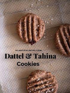 Tahina Kardamom Kekse - Nussfrei & glutenfrei