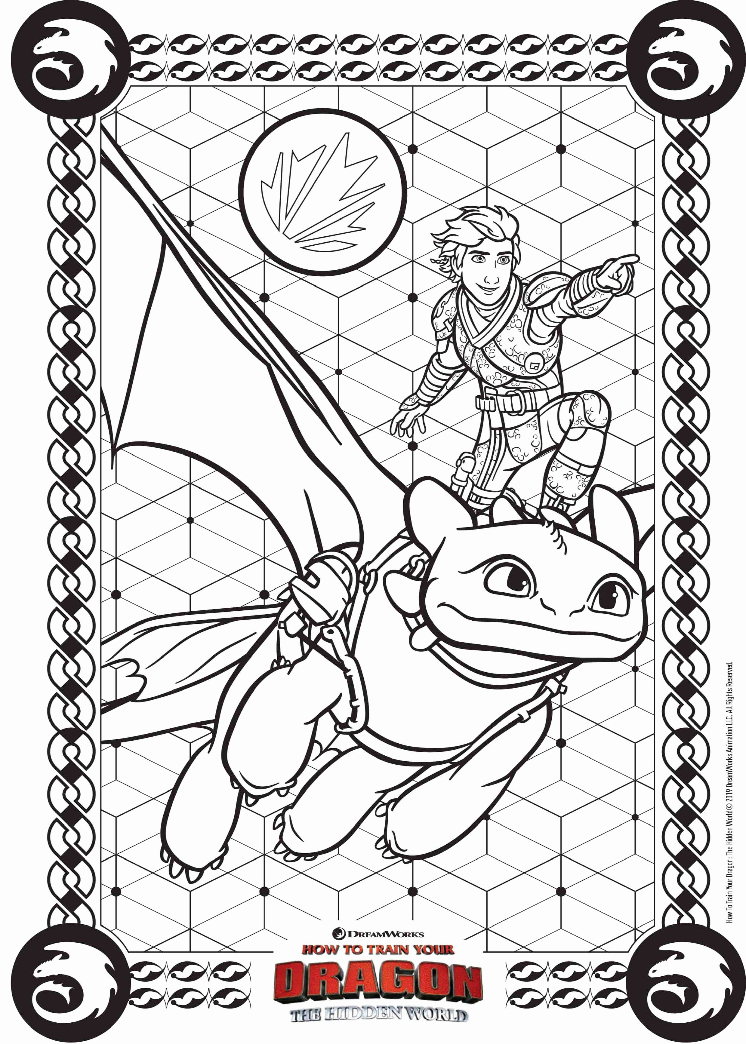 Space Jam Coloring Book Luxury How to Train Your Dragon the Hidden