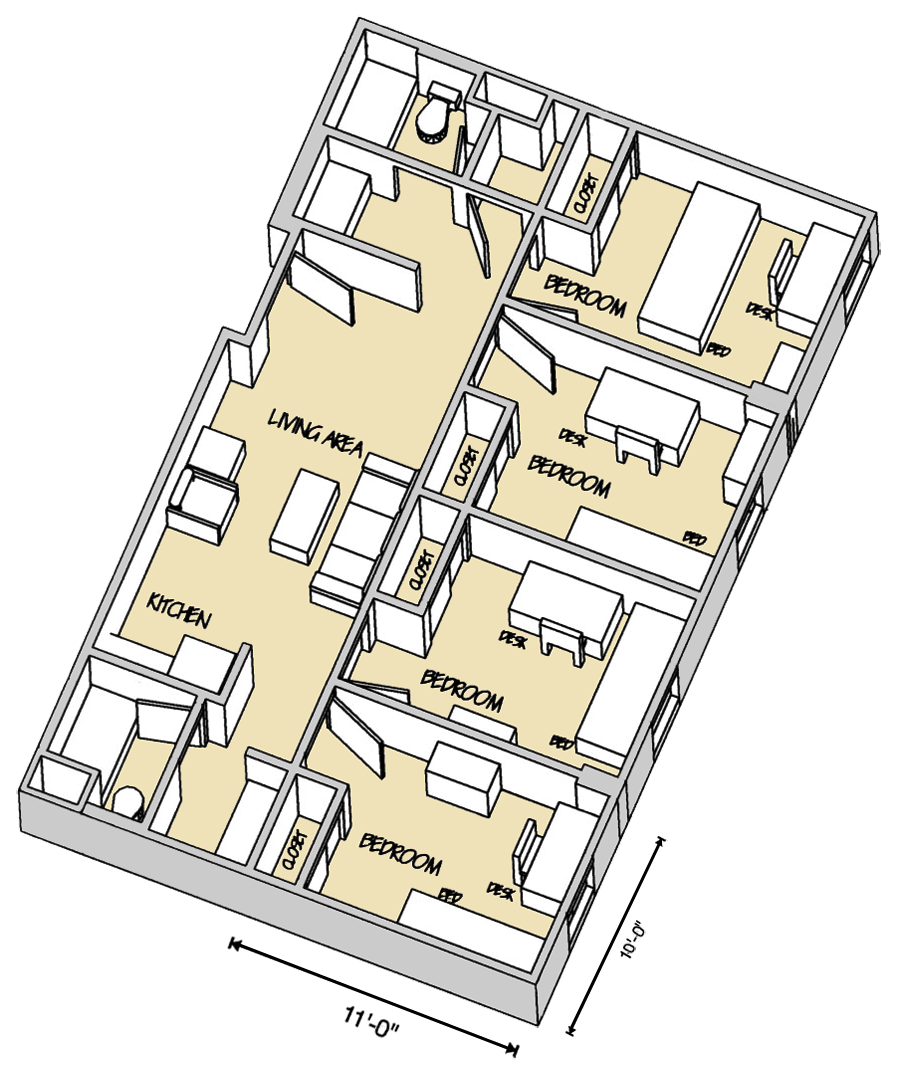murray hall room layout let 39 s see the residence halls. Black Bedroom Furniture Sets. Home Design Ideas