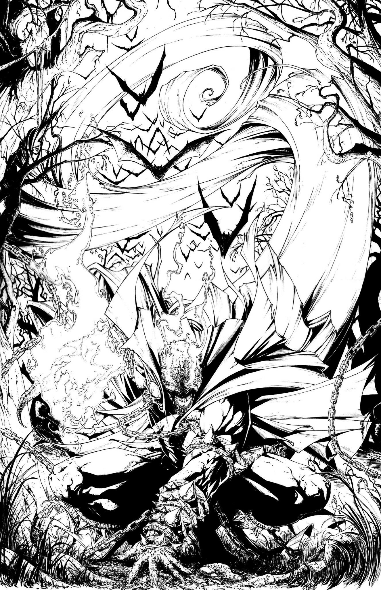 Spawn Pencils and Inks by Raymond Gay | +Other | Pinterest
