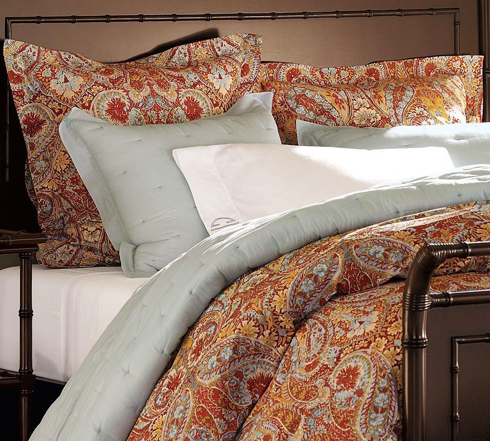 Just Got My New Bed Set Love It Paisley Duvet Paisley Bedding