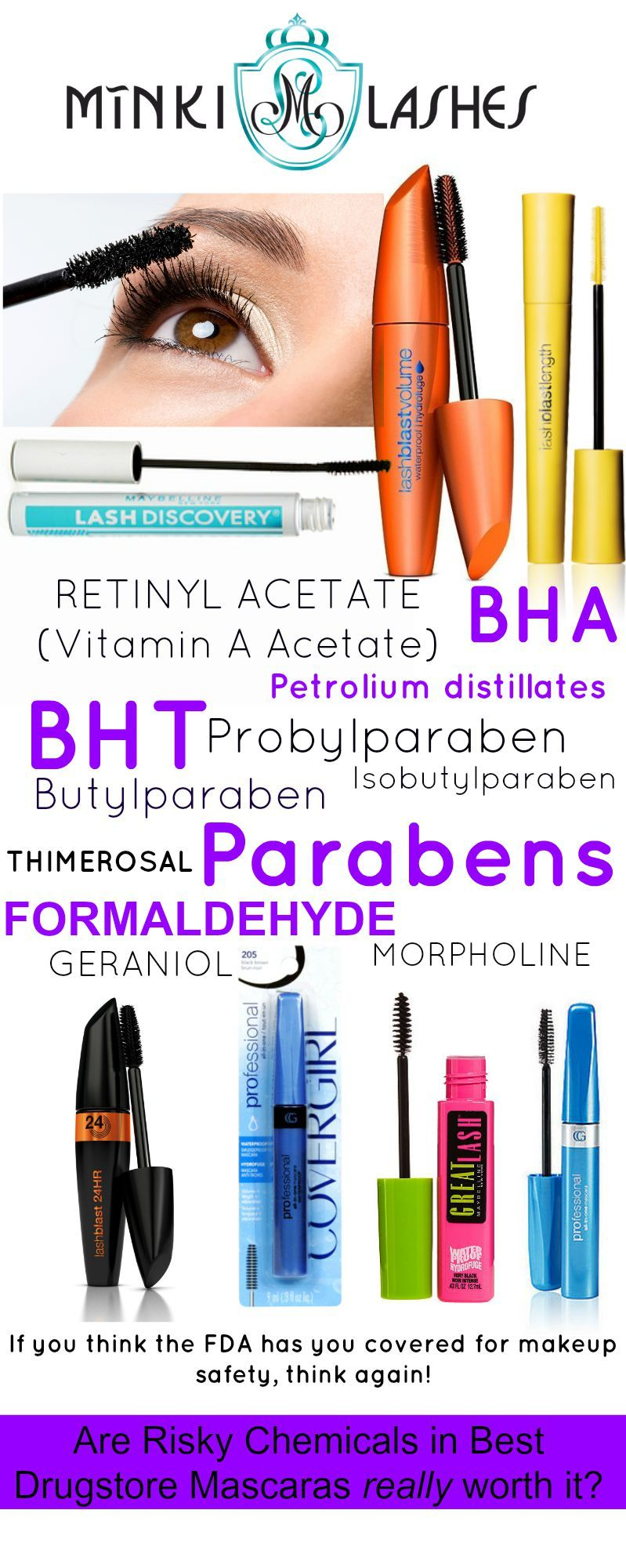 Are Risky Chemicals In Best Mascara Ever From Drugstore
