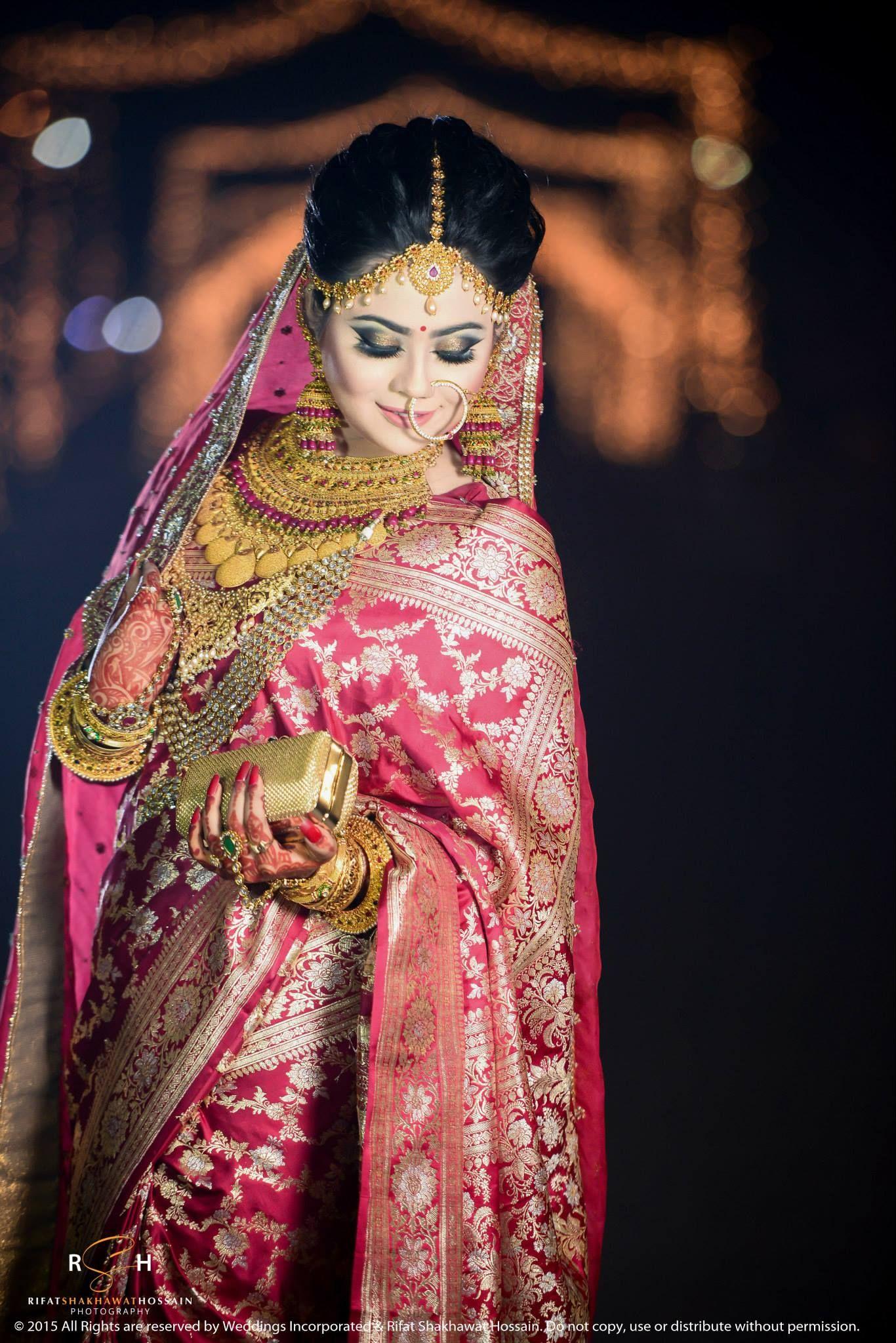 Encantador Bengali Wedding Dress Viñeta - Colección de Vestidos de ...