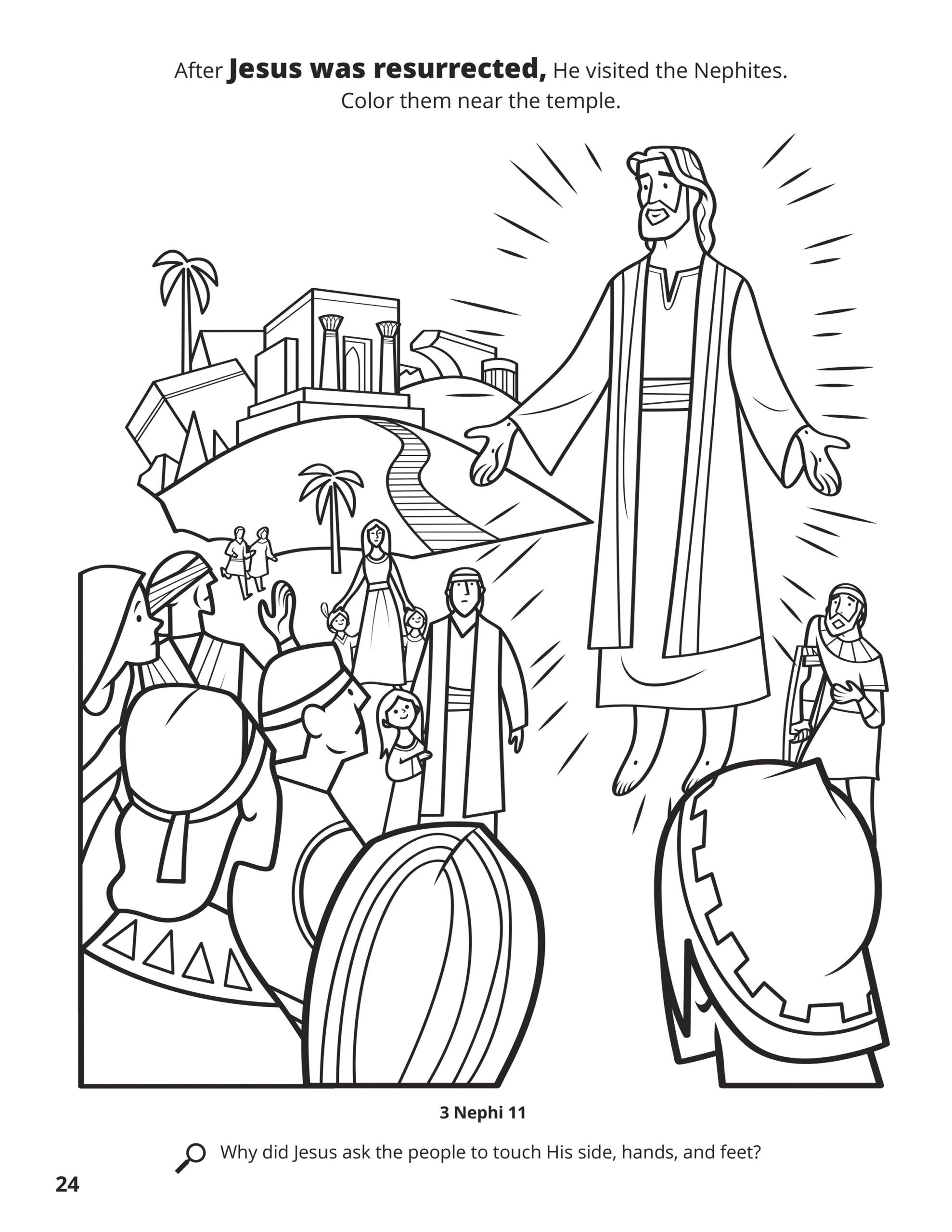 Best Picture Coloring Pages For Jesus Resurrection Lds Coloring Pages Coloring Books Lds Resurrection