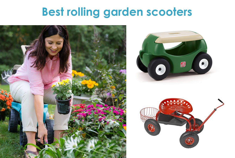 Gardeners Seat On Wheels Review Best Rolling Garden Scooter Garden Scooters Seating Best