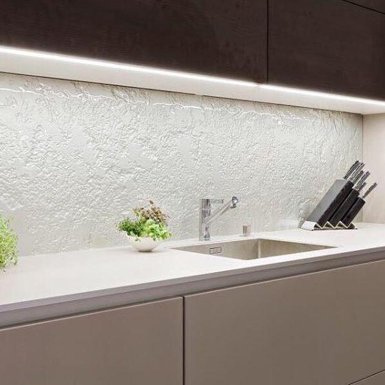 Kitchen Tiles For Splashbacks Ideas: Textured Glass Splashbacks....... So Easy To Clean