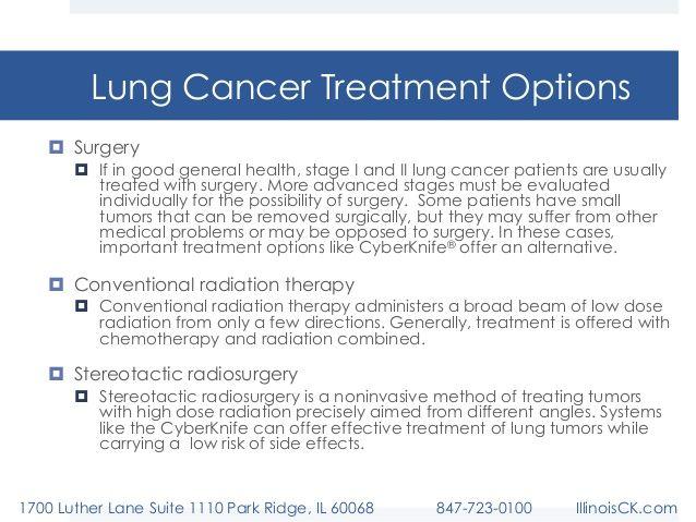 Lung Cancer Treatment Options LCT04 | HealthSanaz | Pinterest