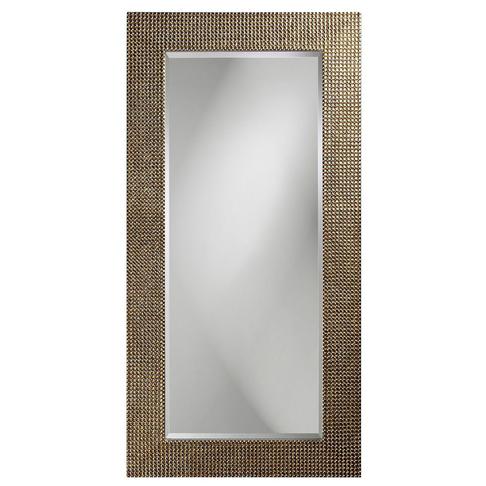 Howard Elliott 2142 Lancelot Rectangular Mirror Silver