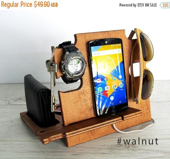 Docking station,gift him,charging station,iphone dock,iphone stand,cell phone stand,desck organizer,android docking stat