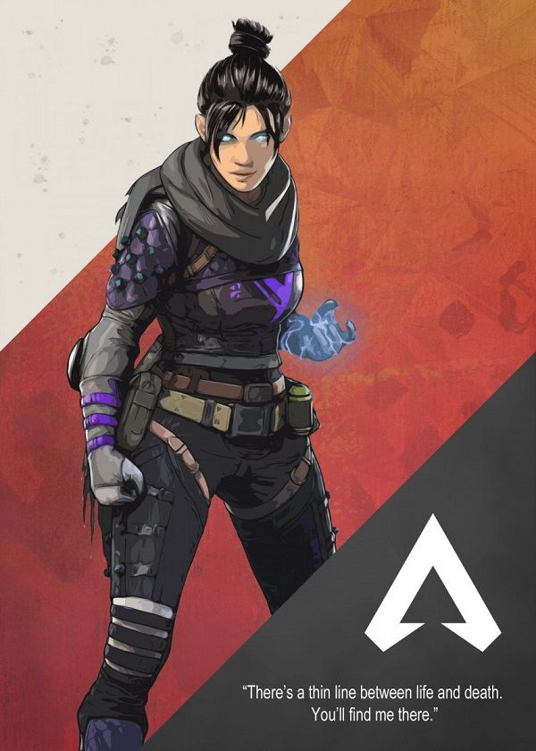 Apex Legends Cutout Characters Displate Posters