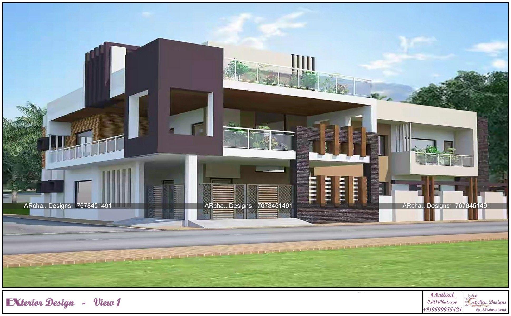 Exterior Design By Archa Designs