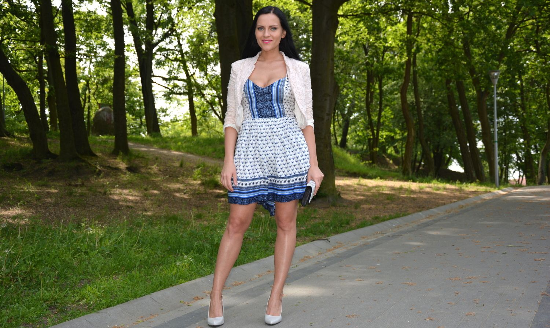 Stylizacja Z Sukienka W Kwiaty I Koronkowym Zakietem Lily Pulitzer Dress Dresses Fashion