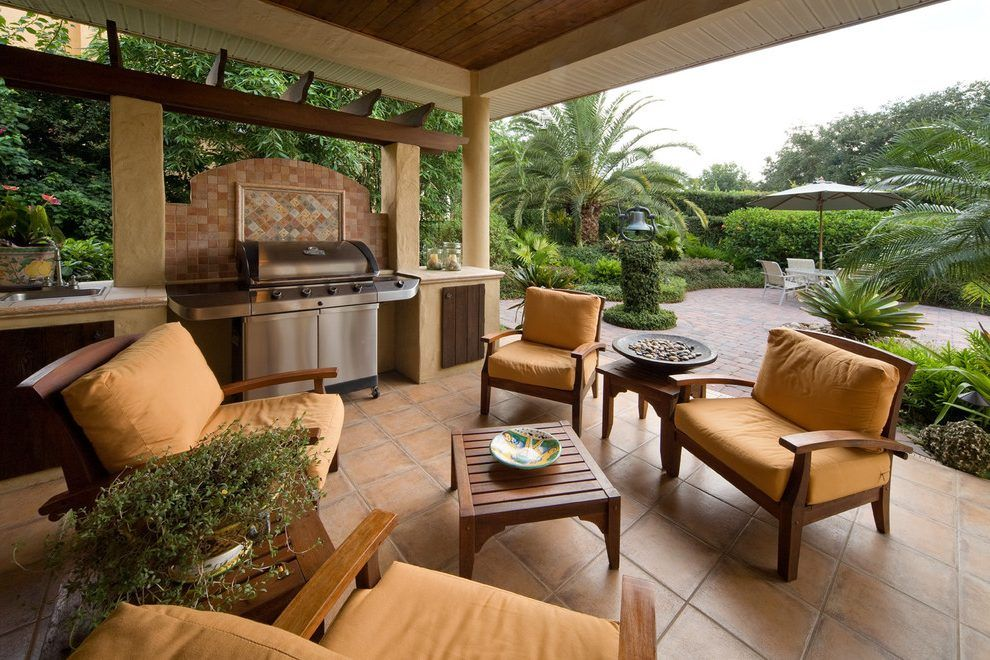 Bbq grill design ideas patio contemporary with outdoor ... on 10X20 Patio Ideas id=86178