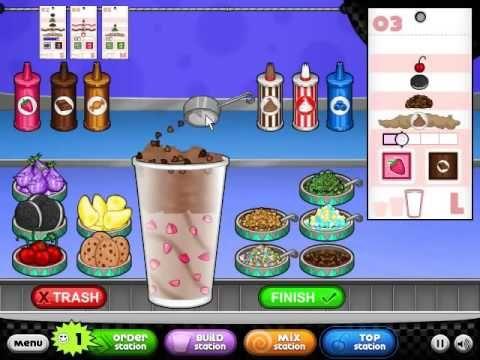 Play Game Papa S Freezeria Ice Cream Shop At Friv4games Club Friv4games Friv4 Friv4school Friv4online Friv4 Friv Games To Play Ice Cream Shop Play