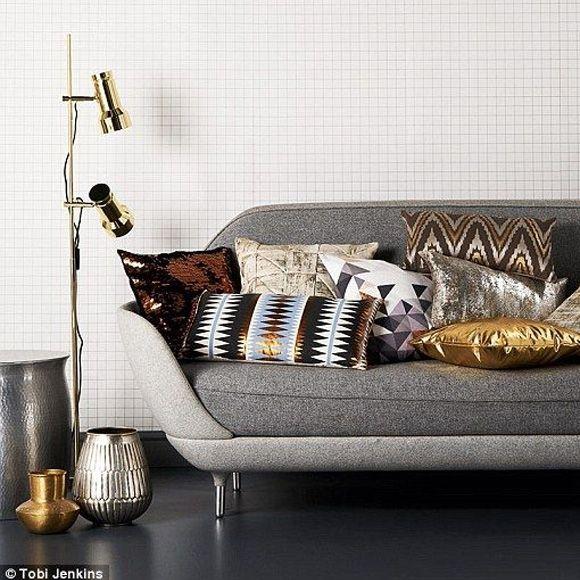 Tendance déco carreaux blanc et noir Plaid pattern and Vignettes