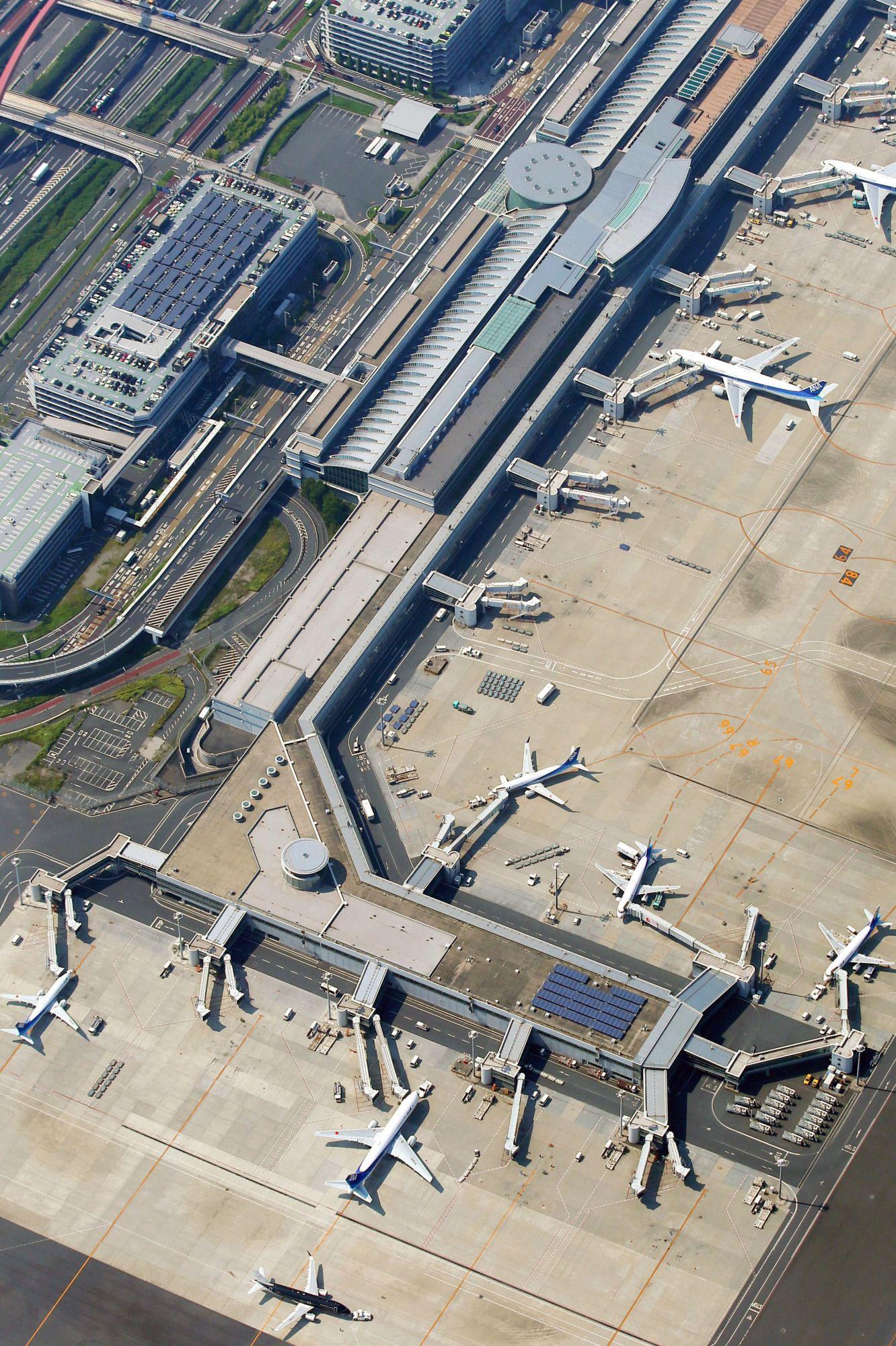 Aeroporto Tokyo : File tokyo international airport terminal g wikimedia