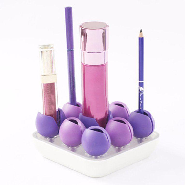 Best Cosmetic Organizer Storage Box Unique Plastic Makeup Brush 640 x 480