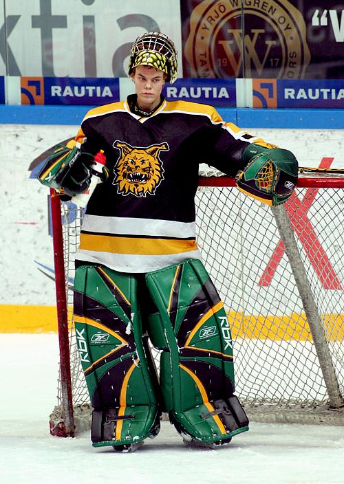 Tuukka Rask Ilves Tampere 3 Ice Hockey Boston Bruins Goalies