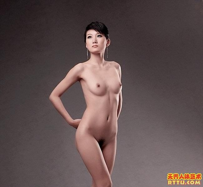 model Chinese nude art