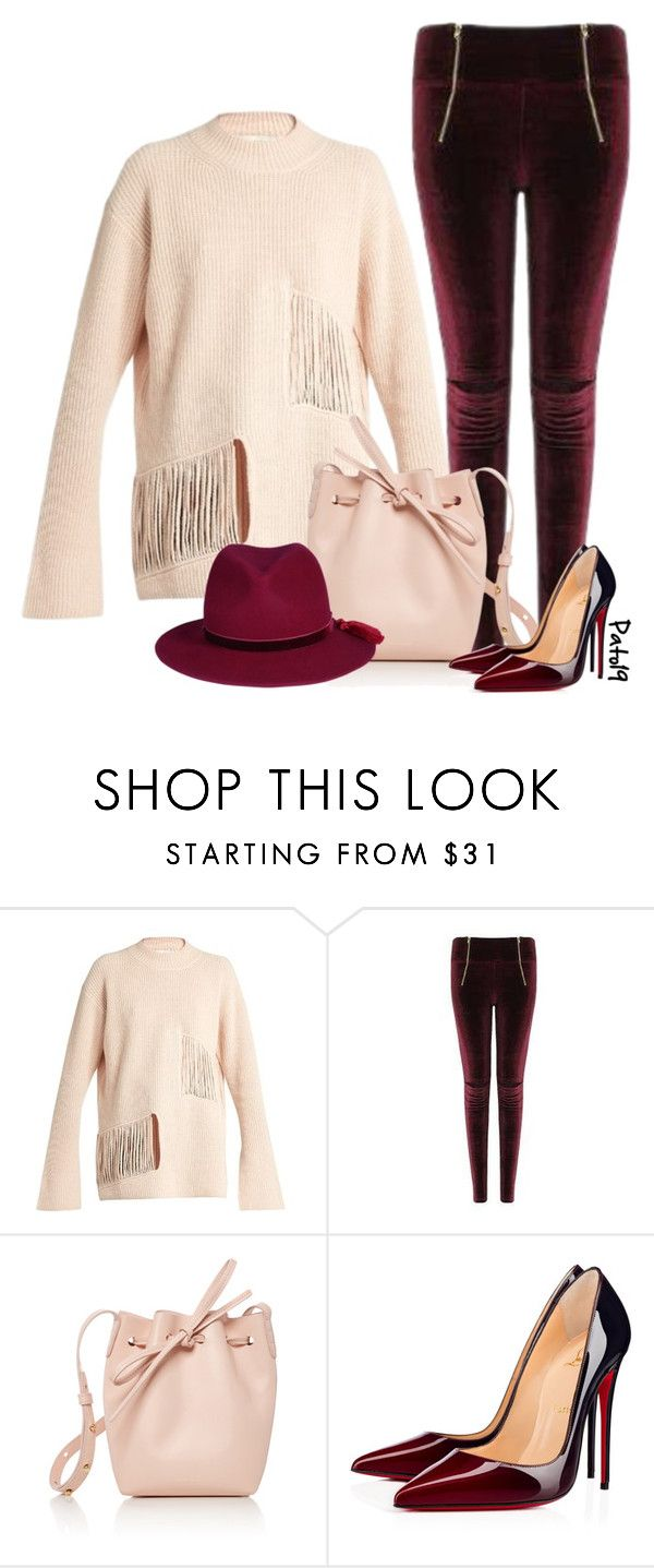 """""""#1055"""" by pato19 ❤ liked on Polyvore featuring STELLA McCARTNEY, Mansur Gavriel and Christian Louboutin"""