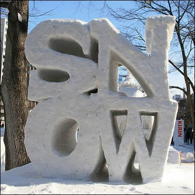 Image result for snow sculptures