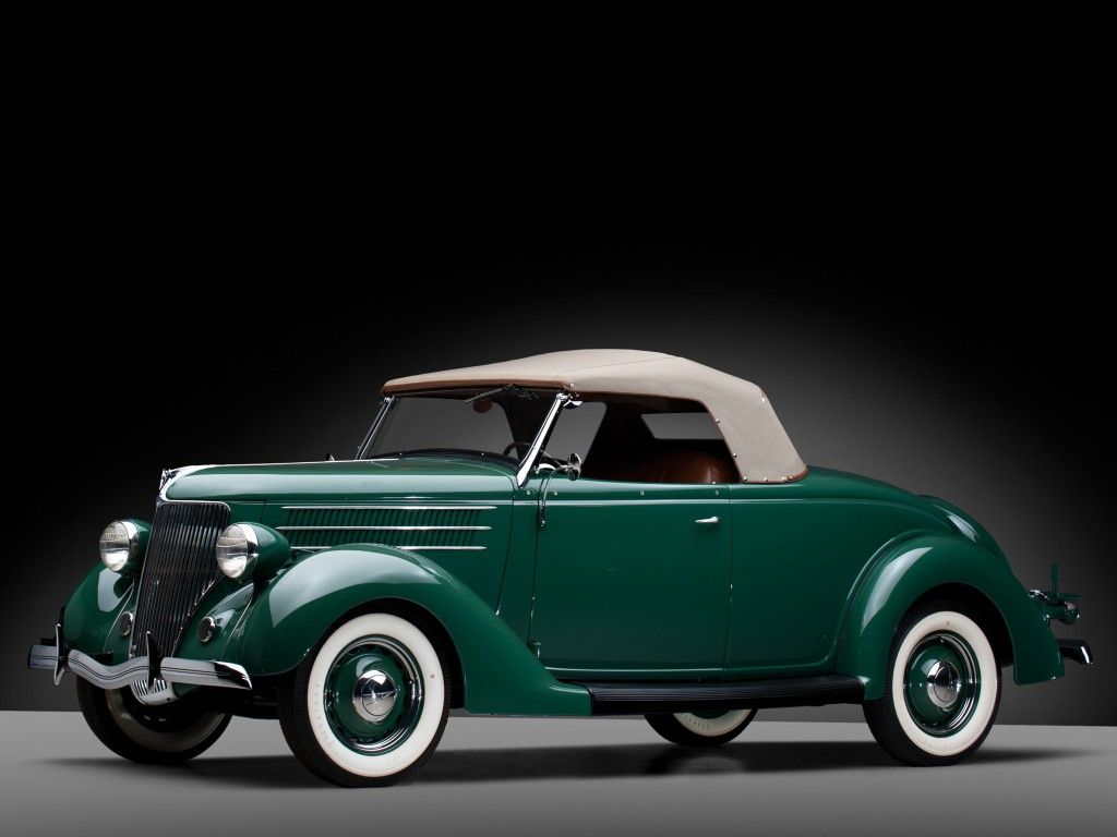 Обои deluxe, форд, v8, roadster, 1936. Автомобили foto 9