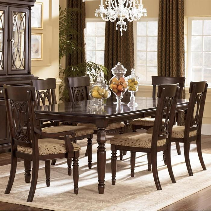 Nebraska Furniture Mart U2013 Ashley 7 Piece Dining Set