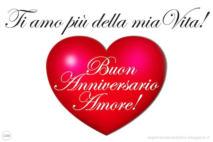 Cdb Cartoline Per Tutti I Gusti Cartolina Buon Anniversario Amore Ti Amo P Buon Compleanno Amore Buon Compleanno Buon Anniversario