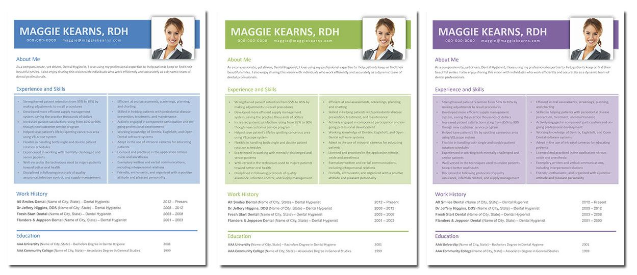 maggie  dental hygiene resume template    only  7 get it