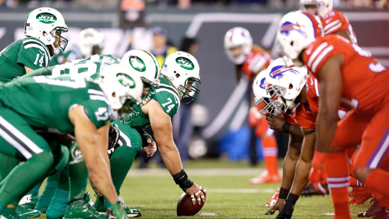 Blindsided Jets Bills Jerseys Tough On Colorblind Desporto