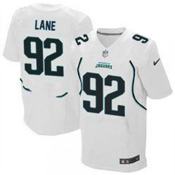 "$78.00--Austen Lane White Elite Jersey - Nike Stitched Jacksonville Jaguars #92 Jeresey,Free Shipping! Buy it now:click on the picture, than click on ""visit aliexpress.com"" In the new page."