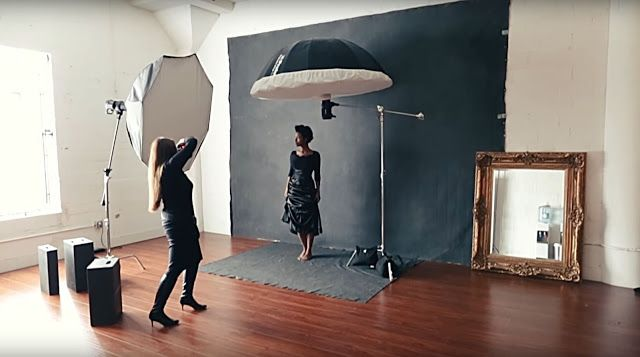 Sue Bryce Creates Her Own Natural Light With Strobes Portrait Lighting Setup Studio Photography Lighting Photography Lighting Setup