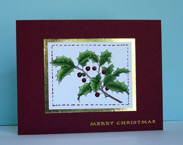 CAS Christmas - Homemade Cards, Rubber Stamp Art, & Paper Crafts - Splitcoaststampers.com