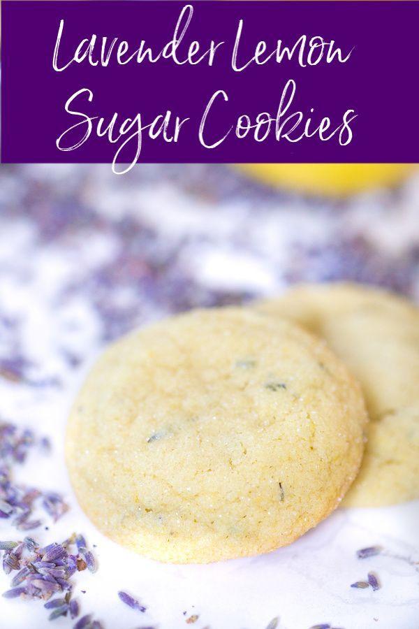Lavender Lemon Sugar Cookies Lavender Lemon Sugar Cookies   @greenschocolate