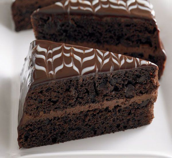 Moist Two Layer Chocolate Cake Recipe