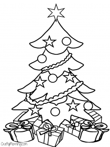 christmas coloring pages free and printable | Free Printable Christmas Coloring Pages for Kids - Crafty ...